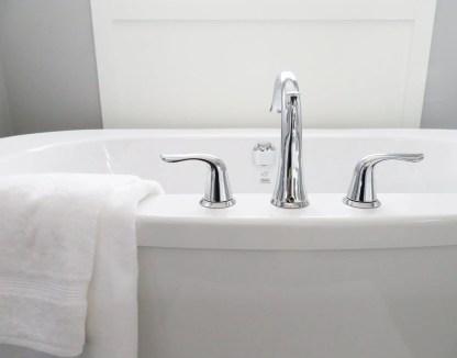 ménage naturel salle de bains