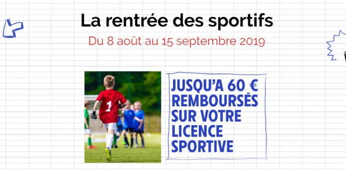 licence sportive