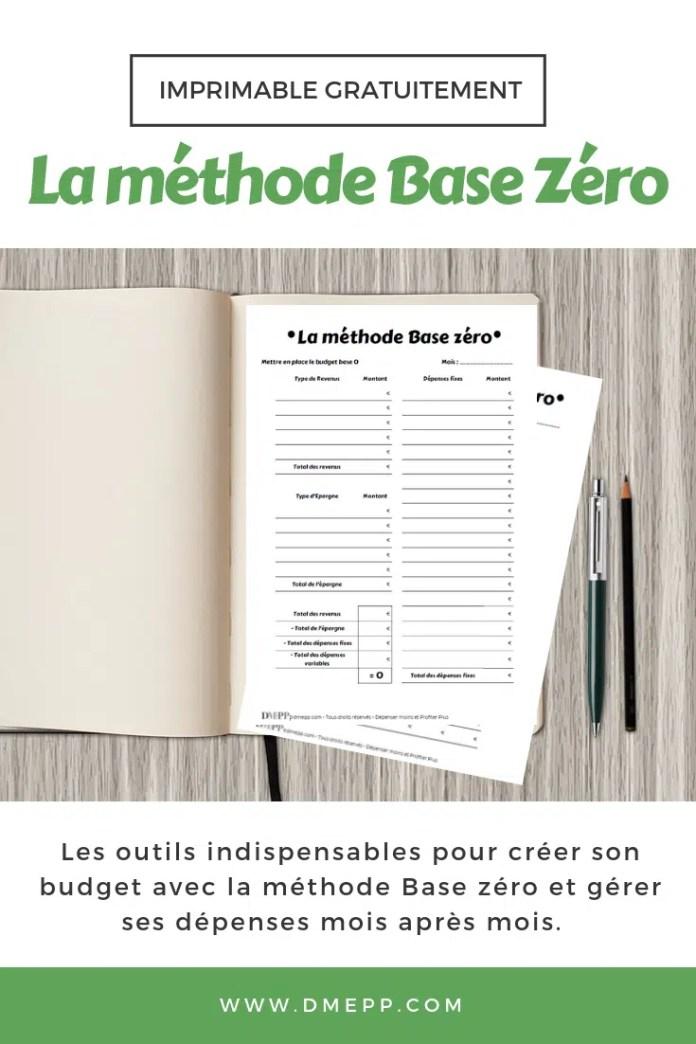 tableau budget base zéro pdf