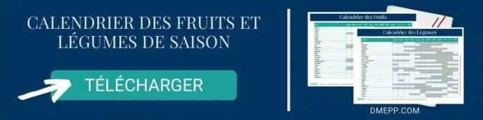 Calendrier des fruits et légumes de saison pdf