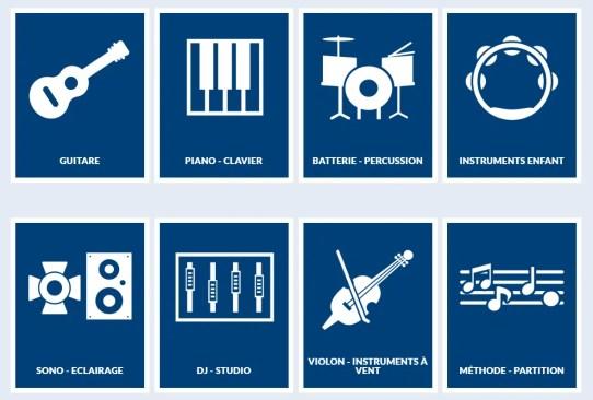 instruments de musique cultura