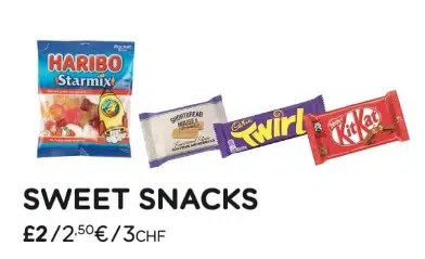 easyjet avis coût de la nourriture dans l'avion