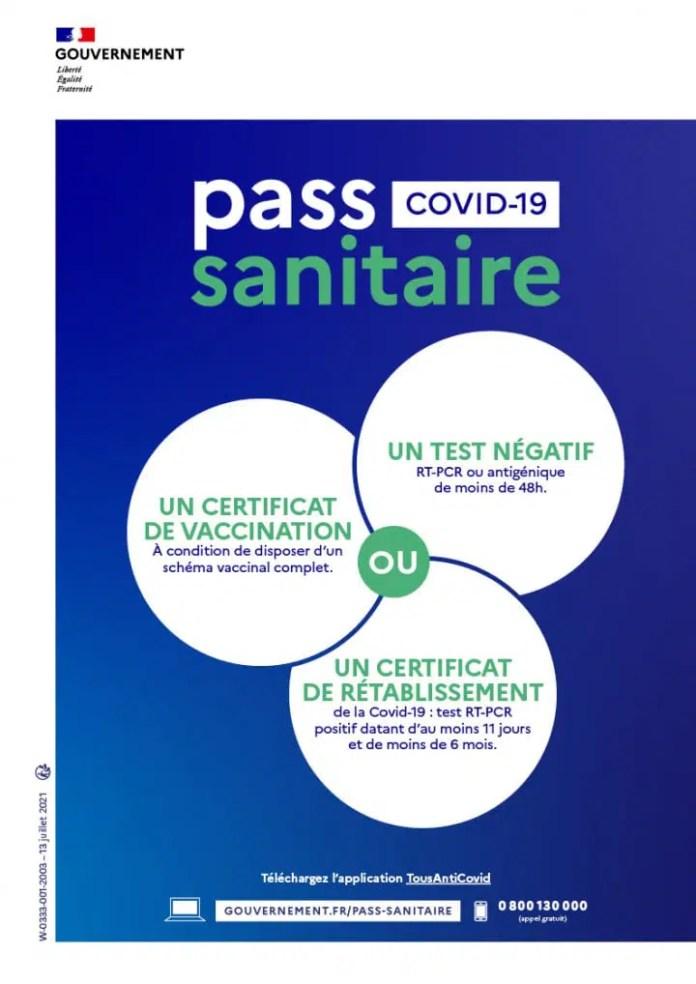 pass sanitaire gouv.fr