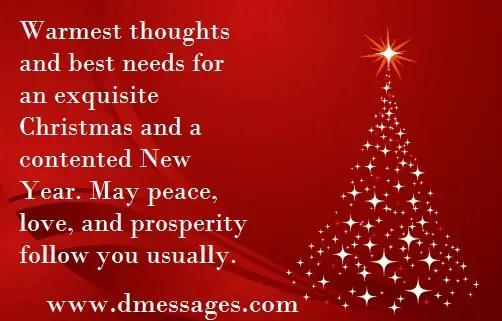 Christmas 2018 SMS