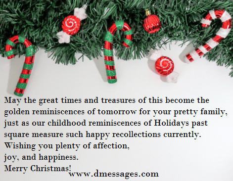Christmas message for best friend
