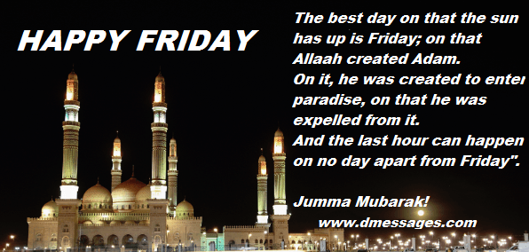 jumma mubarak quotes and images