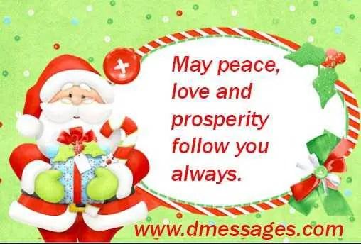 christmas card message religious