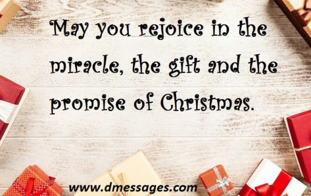 Religious Christmas messages 2019