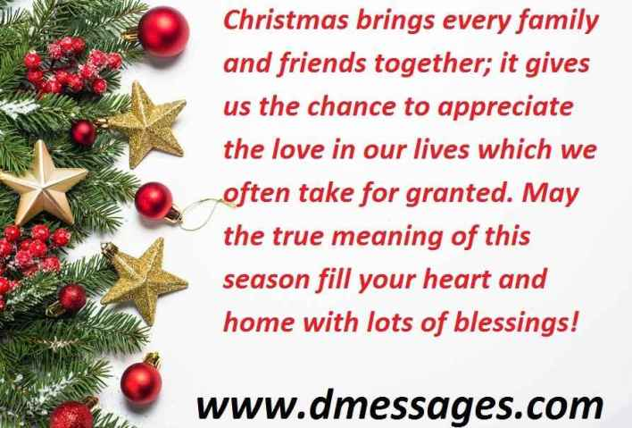Christmas greetings to a friend