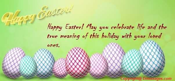 Easter greetings religious messages