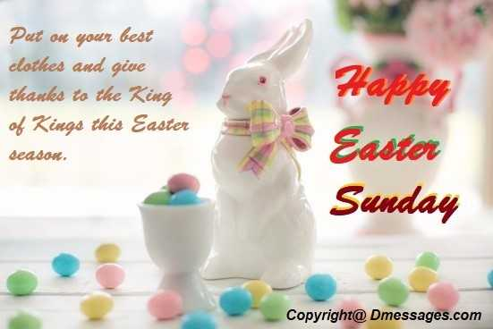 Easter sms picture messages