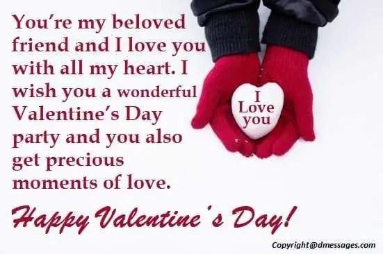 Happy Valentine sms