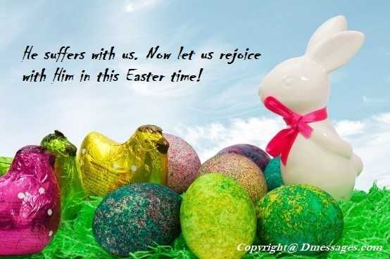 Happy easter messages friend
