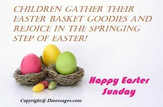 Nice easter messages