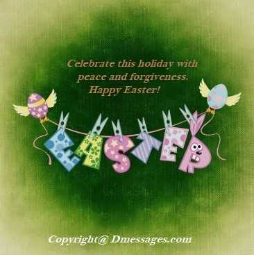 Non religious easter messages
