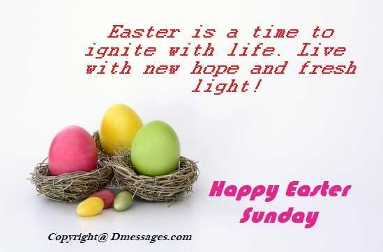 Religious easter messages for cards