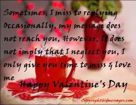Sad valentine status
