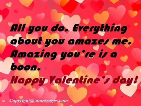 Valentines day cute wishes
