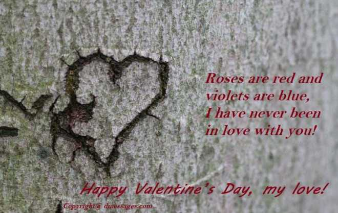 Valentines day wishes advance
