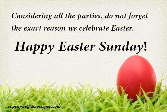 happy easter religious wishes