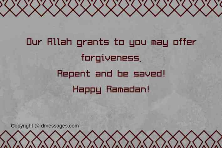 Ramadan messages in english-Ramadan blessing messages