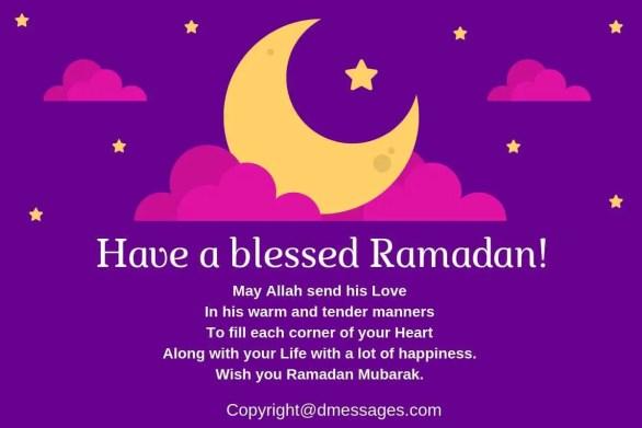 happy ramadan kareem text