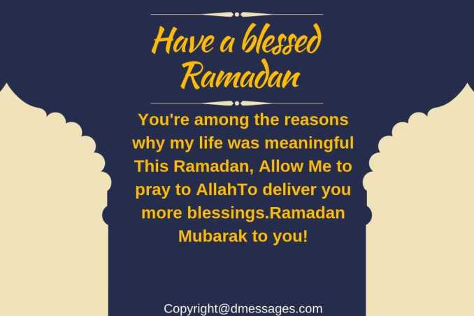 love ramadan sms