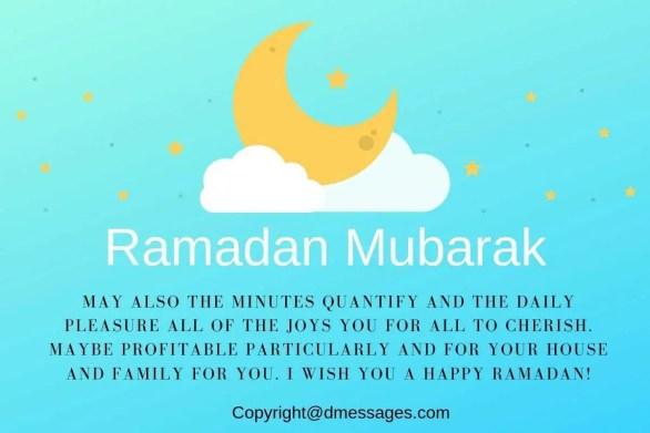 ramadan greetings text messages