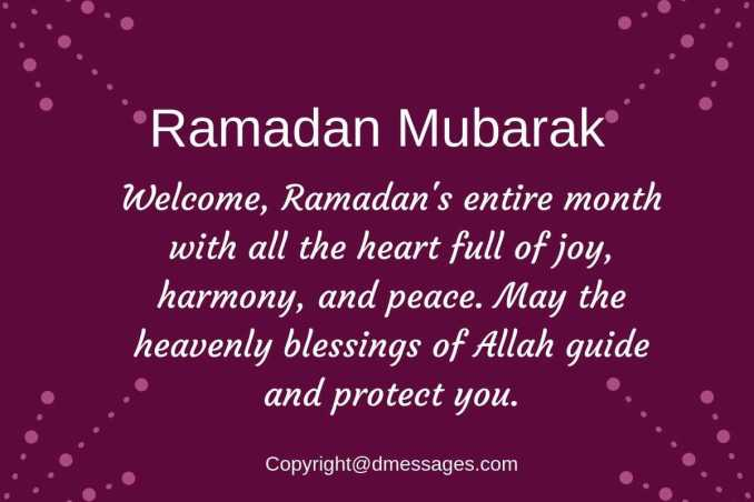wishes of ramadan kareem