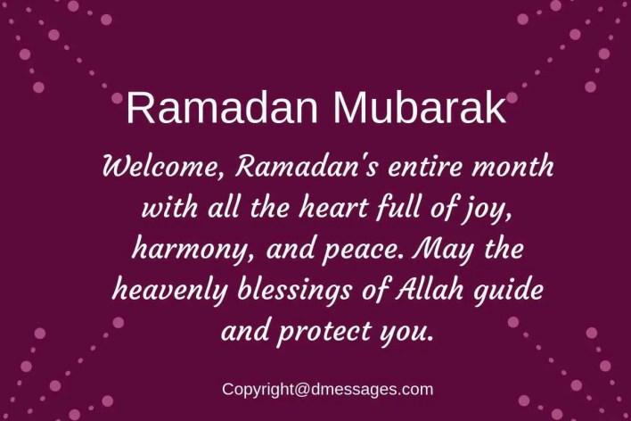 wishes of ramadan kareem