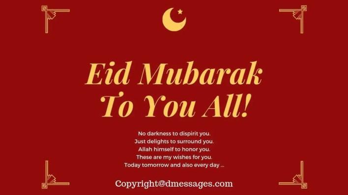 eid mubarak facebook status