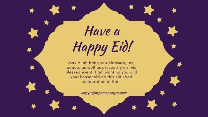 eid mubarak family wishes sms