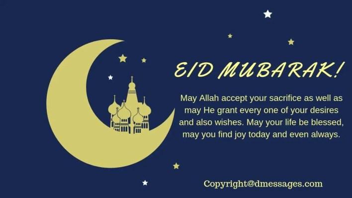 eid mubarak wishes sms in arabic