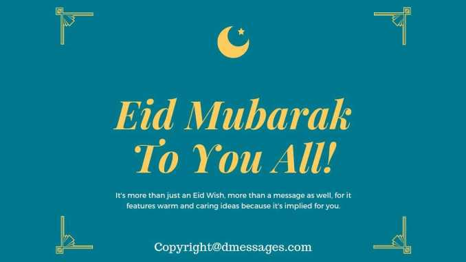quote eid mubarak wishes
