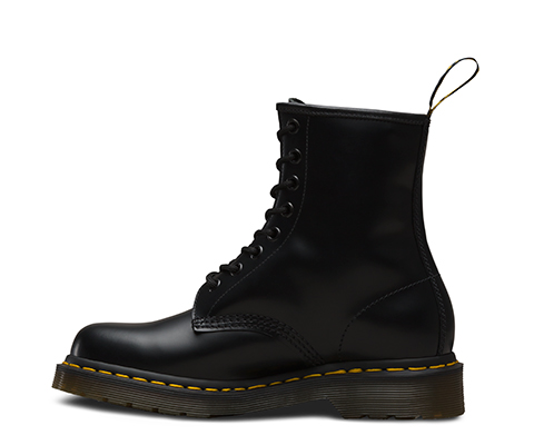 WOMEN'S 1460 SMOOTH | Black and White Shoes & Boots | The ...