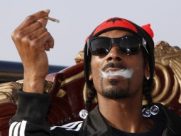 Snoop Dogg has never tried to hide his smoking