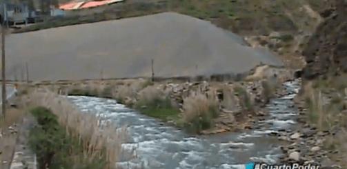 Relaves mineros amenazan al río Rímac en la sierra limeña, DMG Drilling Perú.