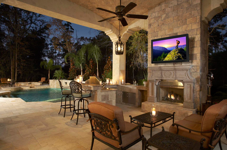 The stunning Seura Storm Outdoor Television