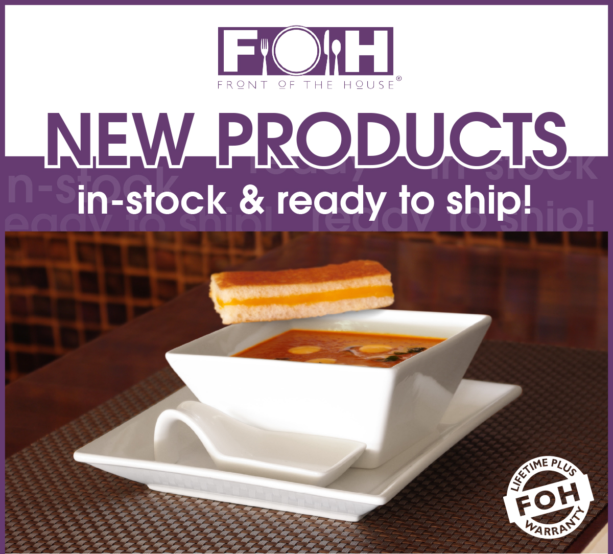 Kyoto by FOH New in Stock Porcelain & New Kyoto Porcelain - FOH in-stock - DMG FloridaDMG Florida
