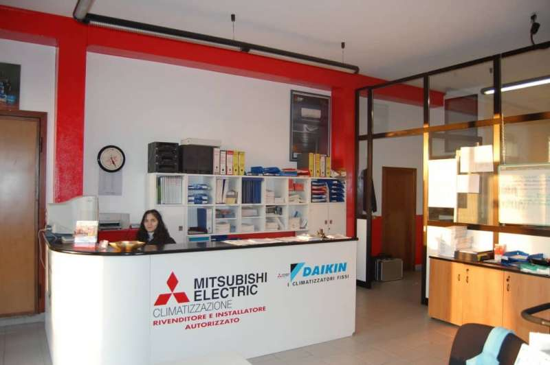azienda scrivania segretaria