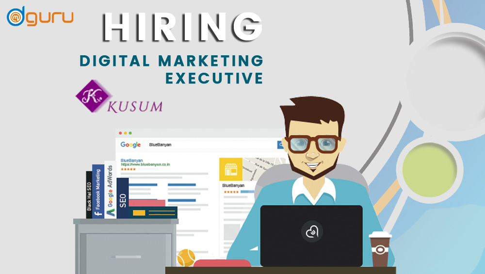 They have to compete with already established businesses, which are not an easy task at all. Digital Marketing Executive Job/Vacancy at Kusum ...