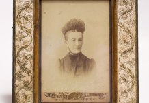 Глафіра Захарівна Грушевська, мати Михайла Грушевського, фото поч. ХХ ст.