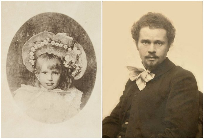 Катерина Грушевська, Іван Труш