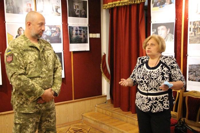 Володимир Скоростецький та Марія Магунь