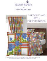 GARDEN PLAID PURPLE ROSES