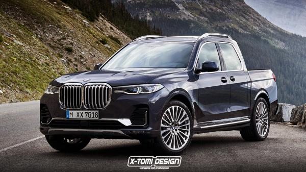 BMW X7 Transformed Into Pickup, X7 M And X8 - CarBuzz