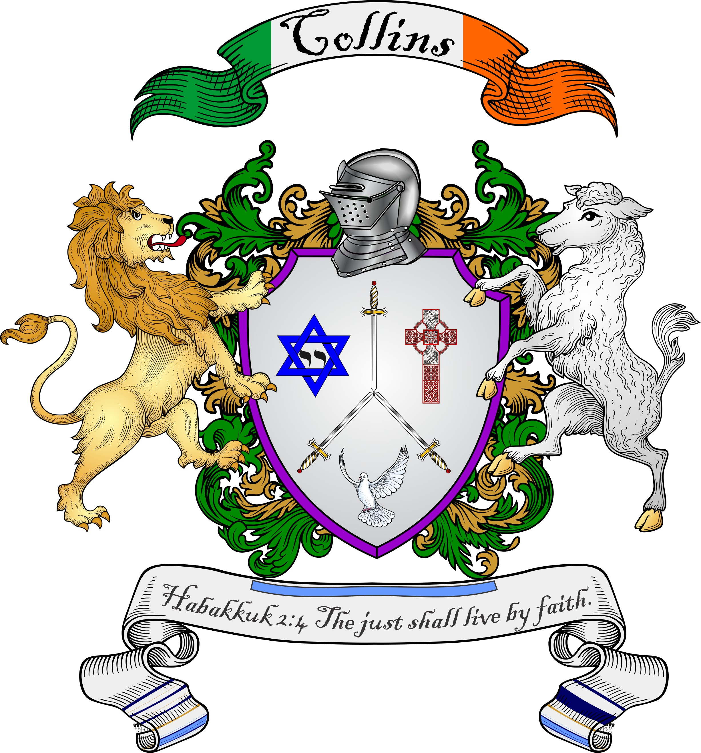 Collins Coat Of Arms