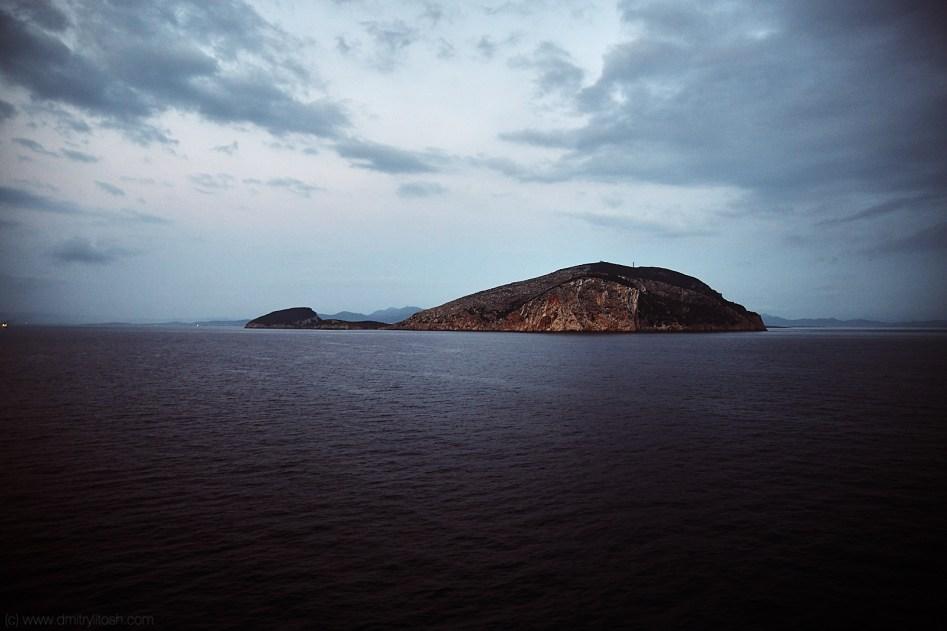 Somewhere near Sardinia