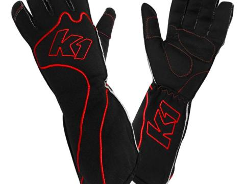rs-1-red k1 kart gloves