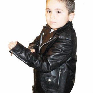 Kids Leather Biker Wears